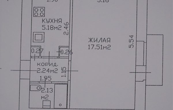 1-я квартира около метро